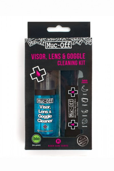 Muc-Off Visor, Lens & Google Cleaning Kit Reinigungsset