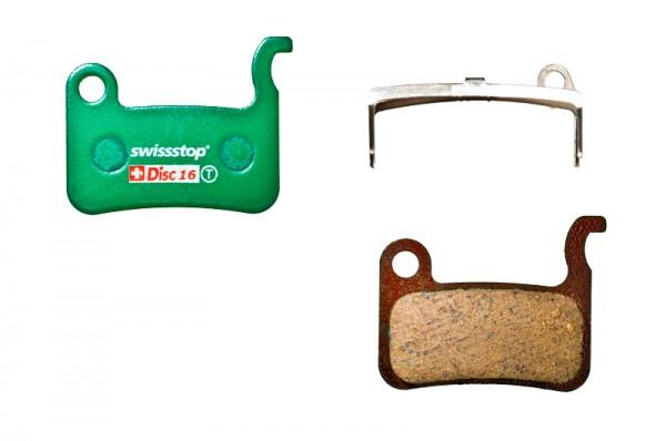 Swissstop Disc 16 Organic Bremsbeläge für Shimano/TRP