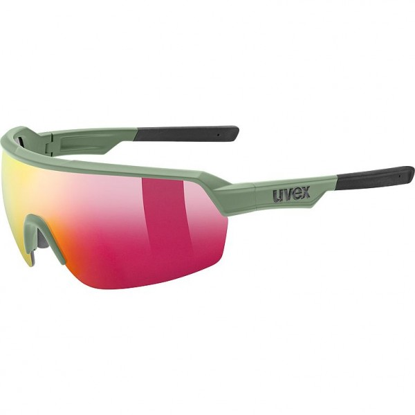 Uvex Sportstyle 227 Sonnenbrille olive mat