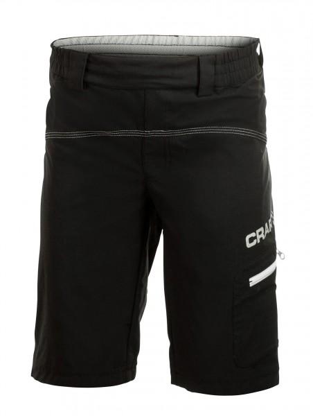 Craft Junior Bike Loosefit Shorts schwarz
