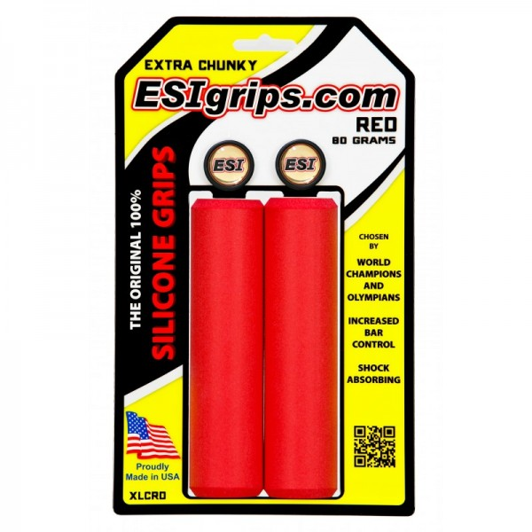 ESIgrips Extra Chunky Red 80g 130mm