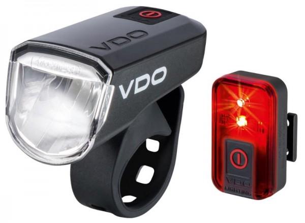 VDO EcoLight M30 Set USB Akku-Lichtset