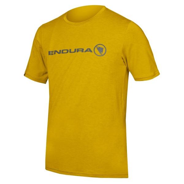 Endura SingleTrack Merino T-shirt Senf M