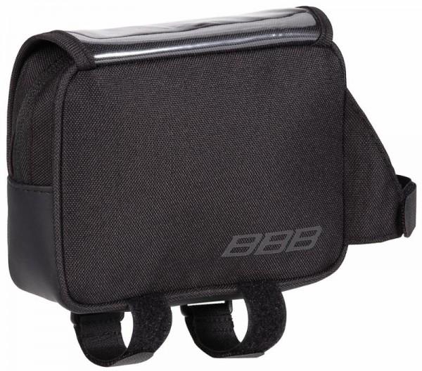 BBB TopPack Oberrohrtasche BSB-16 mit Kartenfach, schwarz