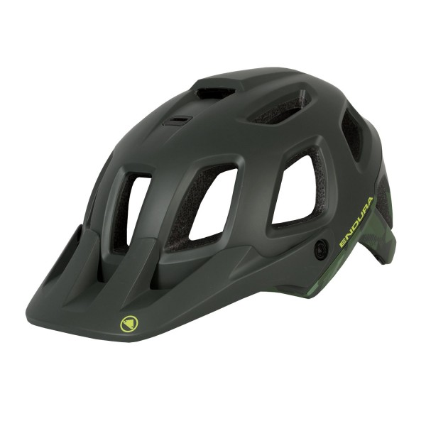 Endura SingleTrack Helm II Khaki