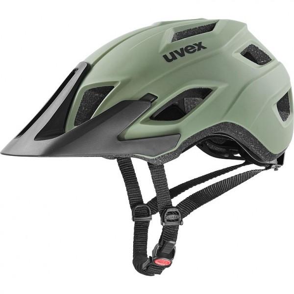 Uvex access Helm olive - black mat