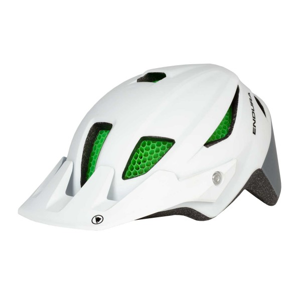 Endura MT500JR Youth Helm One Size Weiss