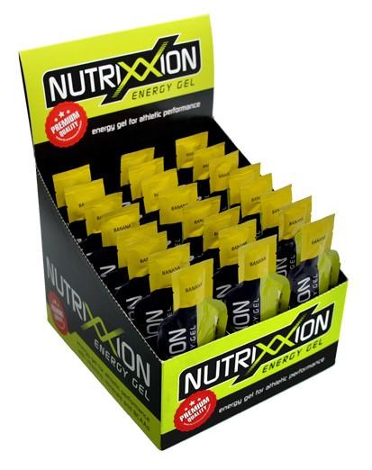 Nutrixxion Energy Gel ohne Koffein Box 24x44g