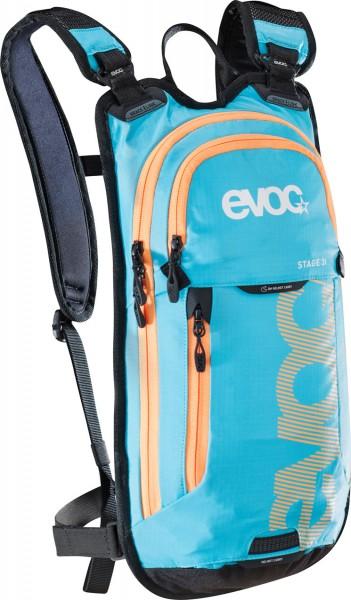 Evoc Stage 3L + 2L Bladder Rucksack mit Trinkblase