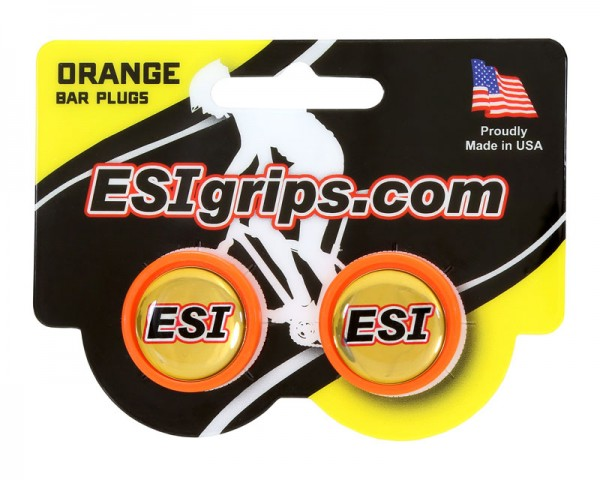 ESIgrips Bar Plugs orange Lenkerendstopfen