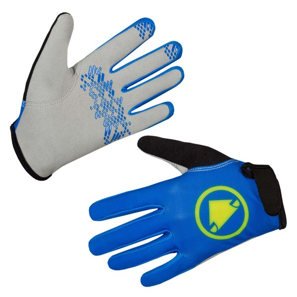 Endura Kinder Hummvee Handschuh Azurblau