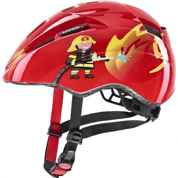 Uvex kid 2 Helm red fireman 46-52cm
