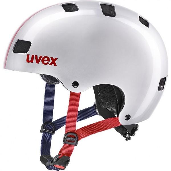 Uvex kid 3 Helm race silver 51-55cm