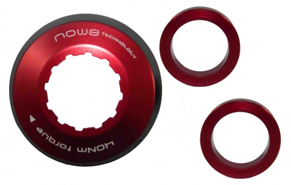 Now8 Umrüstkit Boost Adapter rear Centerlock 12x148 Boost