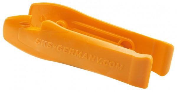 SKS Reifenheber Set 2 Stk. orange