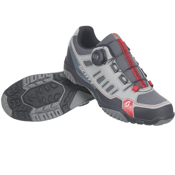 Scott CRUS-R BOA lady/men grey/red