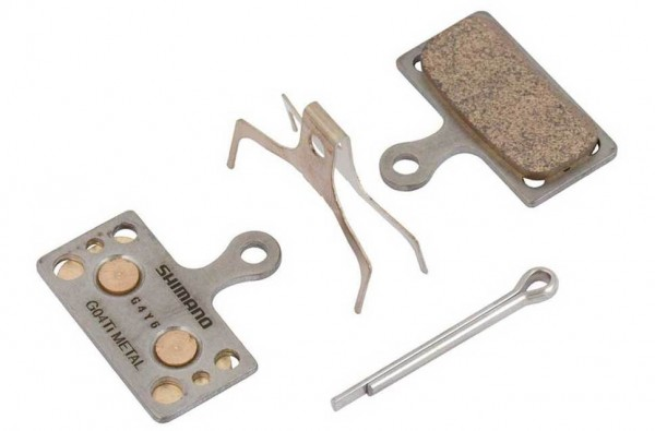 Shimano Bremsbeläge G04Ti Metal für XTR, XT, SLX, Alfine