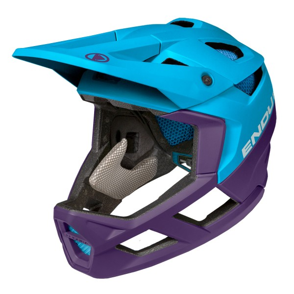 Endura MT500 Full Face Helm Electric Blue