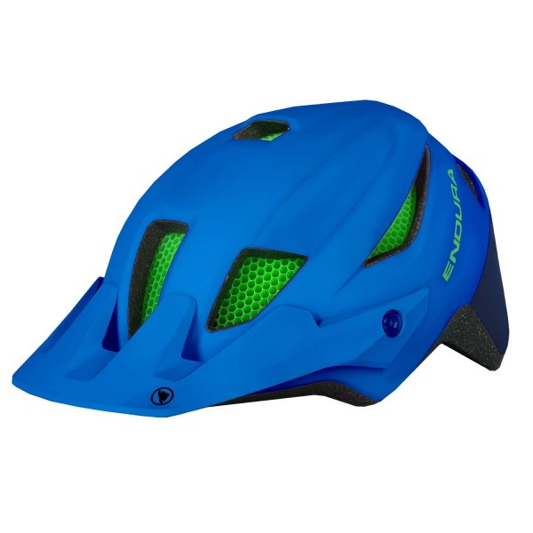 Endura MT500JR Youth Helm Azur Blau